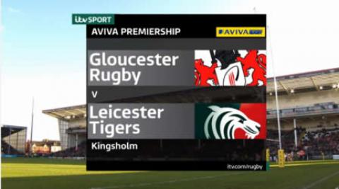 Gloucester vs Leicester Tigers  - Aviva Premiership 2015/16 | Rugby Video Highlights