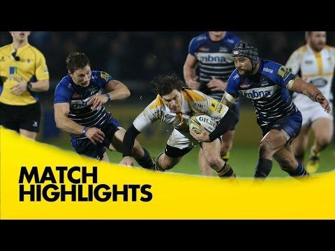 Sale Sharks Vs Wasps | Rugby Video Highlights Aviva Premiership 2015/16