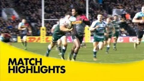 Harlequins vs Leicester Tigers  - Aviva Premiership 2015/16 rugby Video Highlights