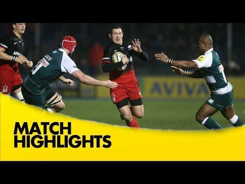 Saracens Vs Leicester Tigers | Rugby Video Highlights Aviva Premiership 2015/16