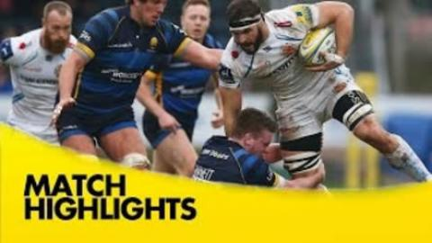 Worcester Warriors vs Exeter Chiefs - Aviva Premiership 2015/16 | Rugby Video Highlights