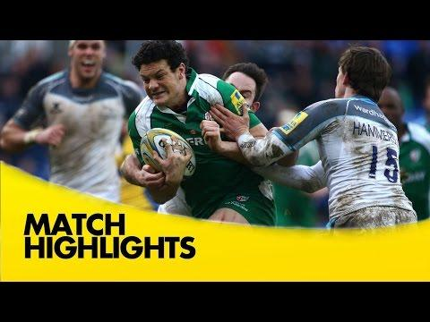 London Irish Vs Newcastle Falcons |  Aviva Premiership Rugby Video Highlights 2015/16