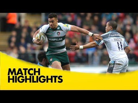 Leicester Tigers Vs Newcastle Falcons - Aviva Premiership 2015/16 | Premiership Rugby Video Highligh