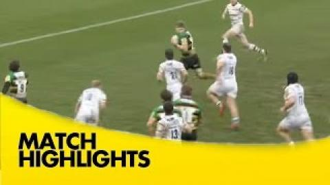 Northampton Saints vs London Irish - Aviva Premiership 2015/16|  Rugby Video HIghlights