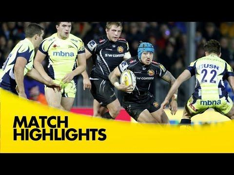 Exeter Chiefs Vs Sale Sharks - Aviva Premiership 2015/16 | Premiership Rugby Video Highlights