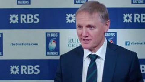 Joe Schmidt on the pressure and enjoyment of Six Nations | Rugby Video Highlights