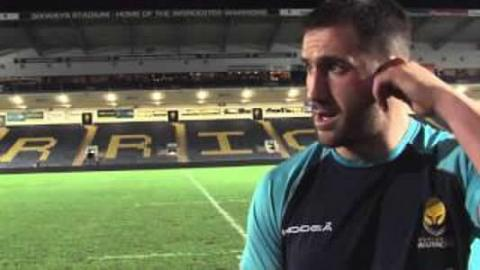 Worcester's Matt Cox reviews Leicester Tigers loss | Rugby Video Highlights