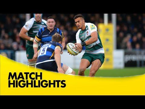 Worcester Warriors Vs Leicester Tigers - Aviva Premiership 2015/16 | Rugby Video Highlights