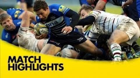 Sale Sharks vs London Irish - Aviva Premiership 2015/16 | Rugby Video Highlights