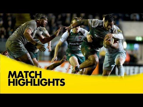 Leicester Tigers Vs Northampton Saints | Aviva Premiership Rugby Video Highlights 2015/16