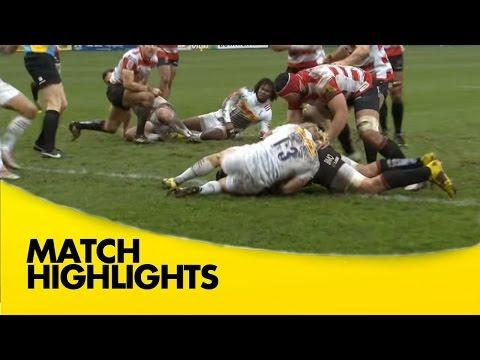 Gloucester Vs Harlequins- Aviva Premiership 2015/16 Rugby Video Highlights