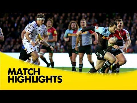 Harlequins Vs London Irish - Aviva Premiership 2015/16 | Rugby Video Highlights