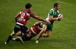 Alex Lewington scored two tries for London Irish