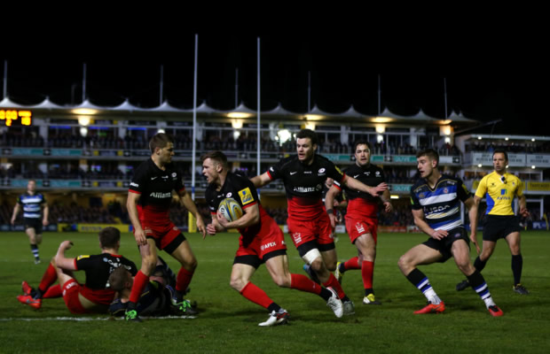 Chris Ashton scored two tries after spending 10 weeks on suspension