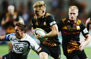 Damien McKenzie scored a brace of tries for the Chiefs