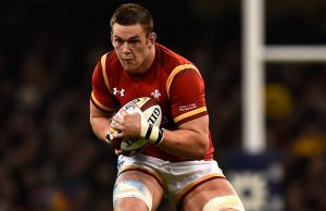 Dan Lydiate will captain Wales on Sunday