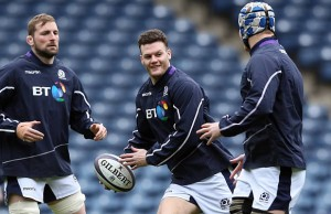 Duncan Taylor starts for Scotland this week