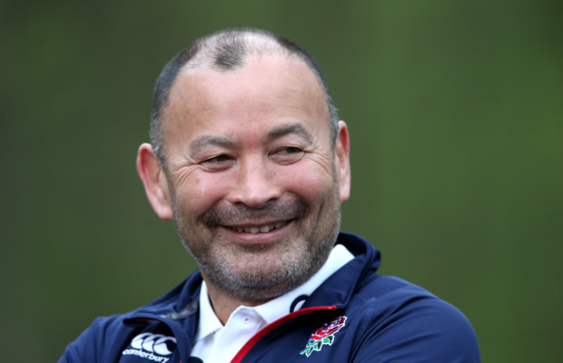 Eddie Jones is pretty happy with where England are at the moment