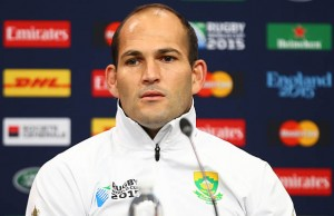 Springbok captain Fourie du Preez