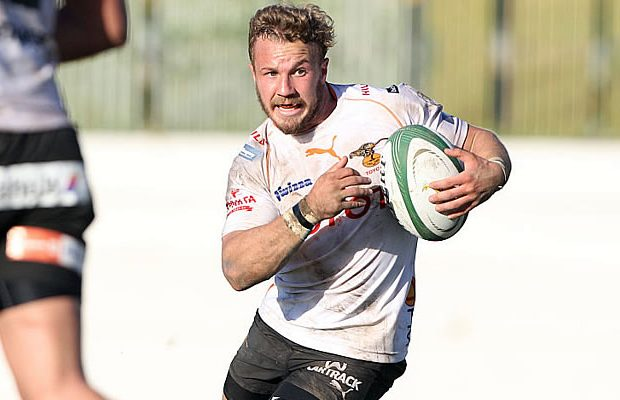Fred Zeilinga in action for the Free State Cheetahs in the Currie Cup
