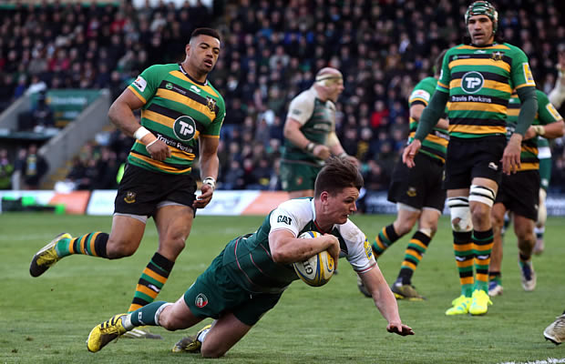 Freddie Burns scored two tries for the Tigers