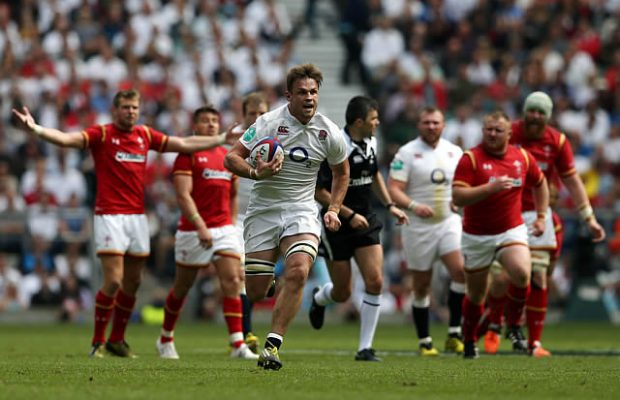 Jack Clifford scored an individual try for England
