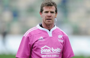 Former Chiefs and Crusaders halfback Jamie Nutbrown is now a referee