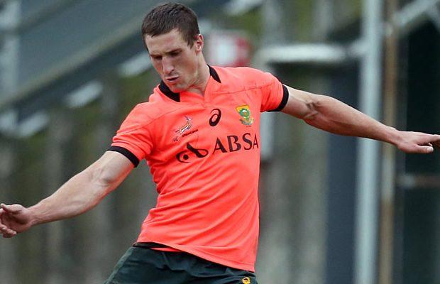 Johan Goosen will start at fullback for South Africa