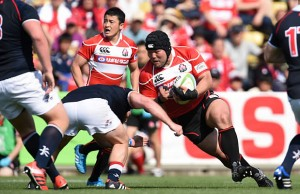 Prop Kensuke Hatakeyama says Japan will stand up to South Africa in the scrum