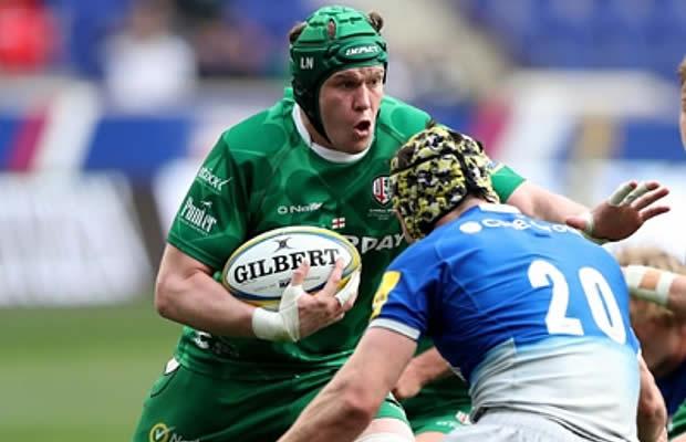 Luke Narraway has committed to London Irish
