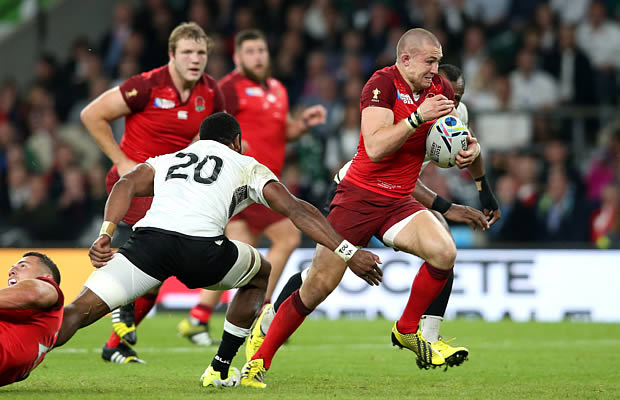 Mike Brown was named man of the match