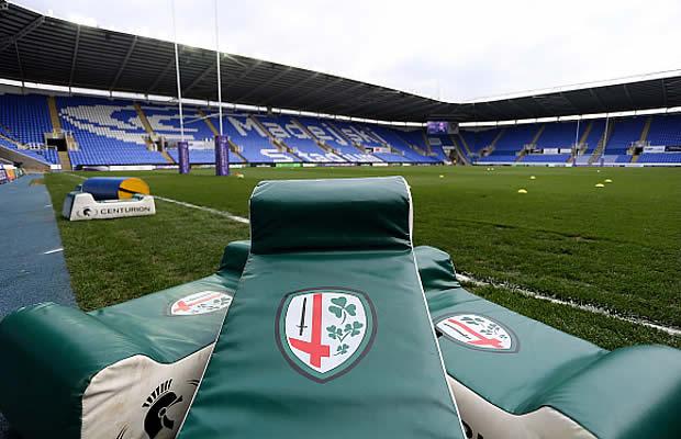 London Irish host Exeter Chiefs at the Madejski Stadium