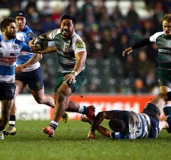 Manu Tuilagi made his first start in 15 months