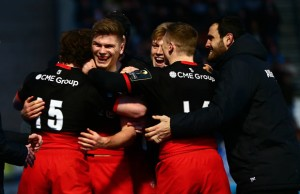 Owen Farrell was named man of the match