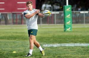 Patrick Lambie will be rested this week