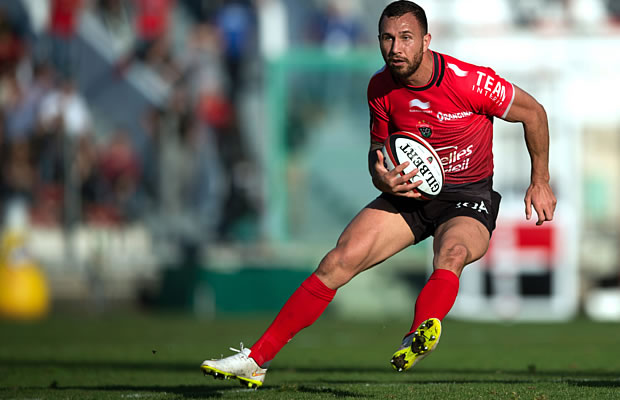 Quade Cooper dazzled in his Top14 debut for Toulon
