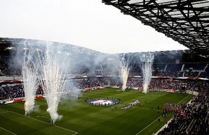Red Bull Arena, home of Major League Soccer's New York Red Bulls