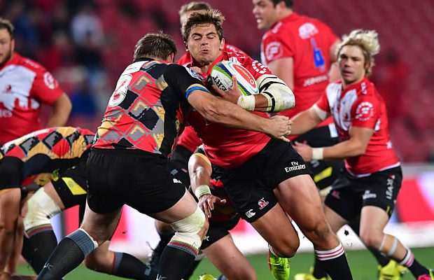 Rohan Janse van Rensburg scored two tries for the Lions