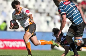 Sias Ebersohn is at flyhalf for the Free State Cheetahs
