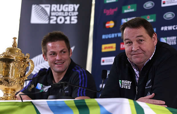 Steve Hansen says someone else should take the All Blacks to the 2019 World Cup