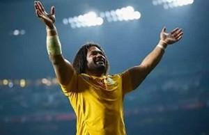 Australia celebrate victory