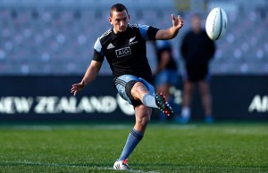Aaron Cruden looks set to start against Wales this weekend