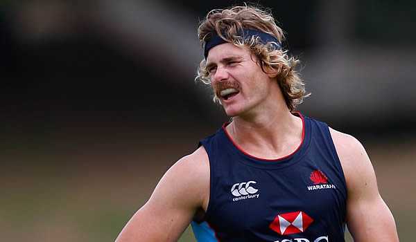 Berrick Barnes could be back playing for the Waratahs