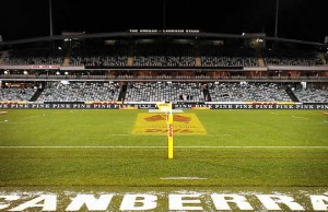 GIO Stadium in Canberra will remain home for the Brumbies