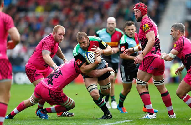 Chris Robshaw has re-signed with Harlequins