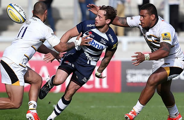 Danny Cipriani is considering his future with Sale Sharks