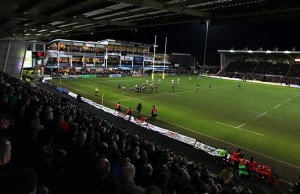 Northampton Saints host Sale Sharks at Franklins Gardens