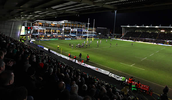 Northampton Saints host Harlequins at Franklins Gardens