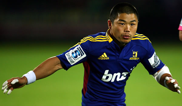 Fumiaki Tanaka returns for a fourth Super Rugby season