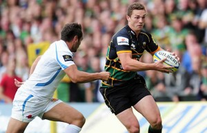 George North is staying at Franklin's Gardens